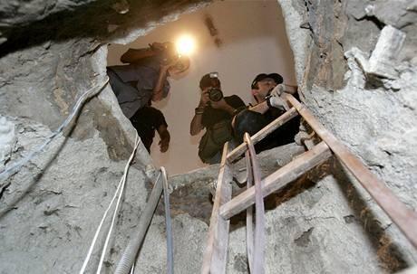 Итальянские воры выкопали километровый туннель, чтобы попасть в ювелирный магазин. Изображение № 1.