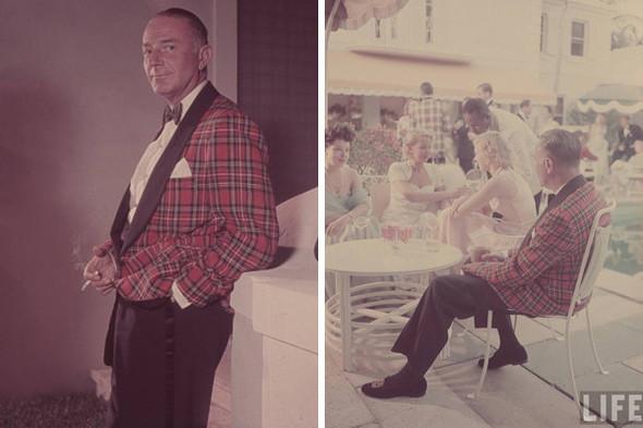 Снимки с вечеринки в Шато Мармон в 1957 году, архив журнала Life. Изображение № 20.