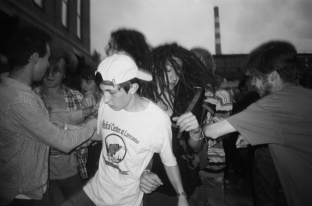 Фоторепортаж: Фестиваль новой российской рок-музыки «Боль». Изображение № 8.