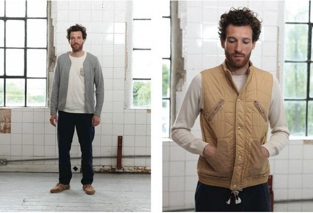 Шотландская марка Folk опубликовала лукбук весенней коллекции одежды. Изображение № 12.