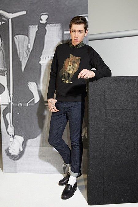 Марка Kitsuné опубликовала лукбук новой коллекции. Изображение № 5.