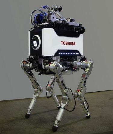 Японцы создали робота, выдерживающего радиацию. Изображение № 6.