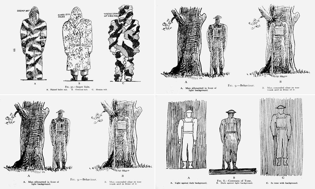 Эволюция маскировочного костюма и история снайперов в XX веке. Изображение № 7.