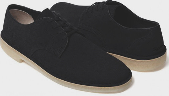 Марки Supreme и Clarks выпустили совместную модель обуви. Изображение № 2.