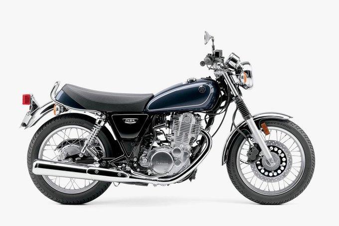 Yamaha показала первые изображения обновлённого байка SR400. Изображение № 2.