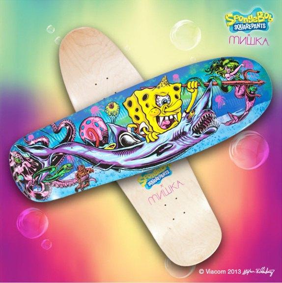9 скейтбордов с принтами, выпущенных в 2013 году. Изображение № 13.