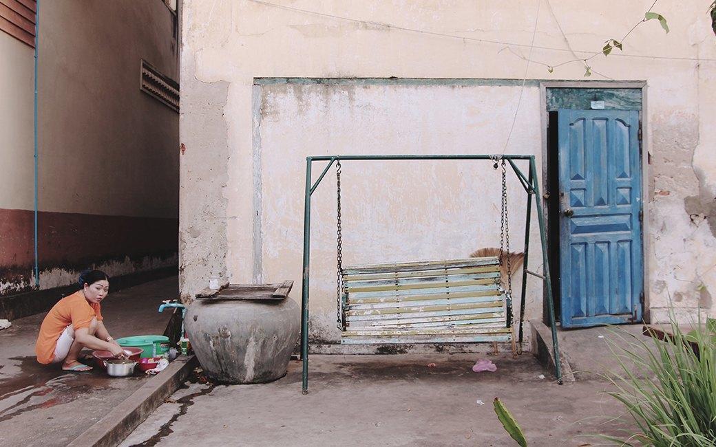 Две девушки и один мотоцикл: Путешествие по Камбодже. Изображение № 14.