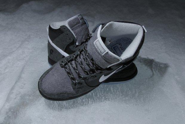 Магазин Premier и марка Nike выпустила совместную модель обуви SB Dunk Hi Premier SE. Изображение № 6.