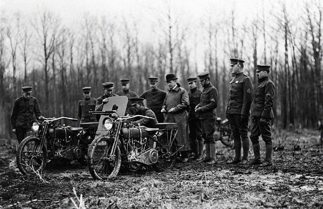 Железный конь: Как мотоциклы использовали в военных действиях. Изображение № 2.