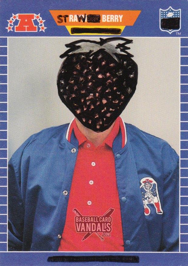 Baseball Card Vandals: Художники иронизируют над спортивными коллекционными карточками. Изображение № 13.