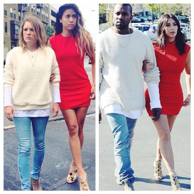 Косплей Канье Уэста и Ким Кардашьян в блоге What Would Yeezus Wear?. Изображение № 3.