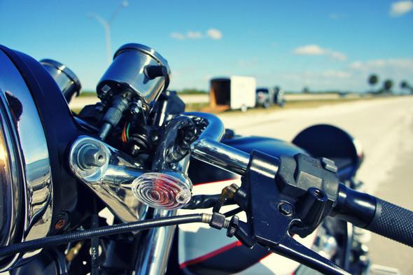 Мотоцикл Honda CB650 мастерской Steel Bent Customs. Изображение № 5.