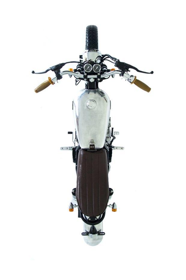 Мастерская Deus Ex Machina собрала новый мотоцикл на базе Yamaha SR400. Изображение № 8.