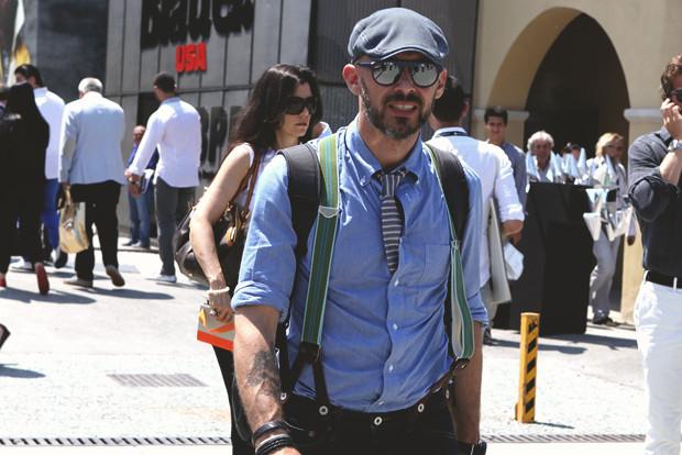 Первый день Pitti Uomo: Прически, усы и бороды посетителей. Изображение № 11.