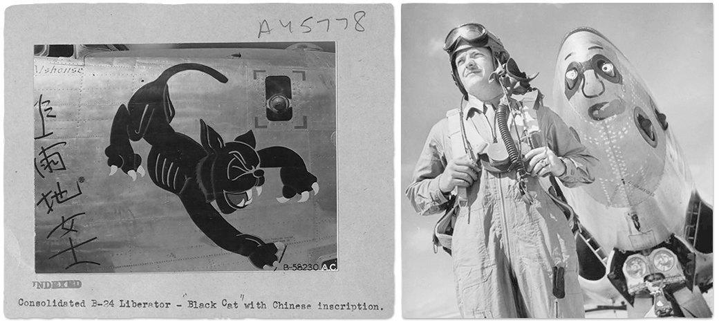 Рисунки на самолетах времен Второй мировой войны. Изображение № 6.