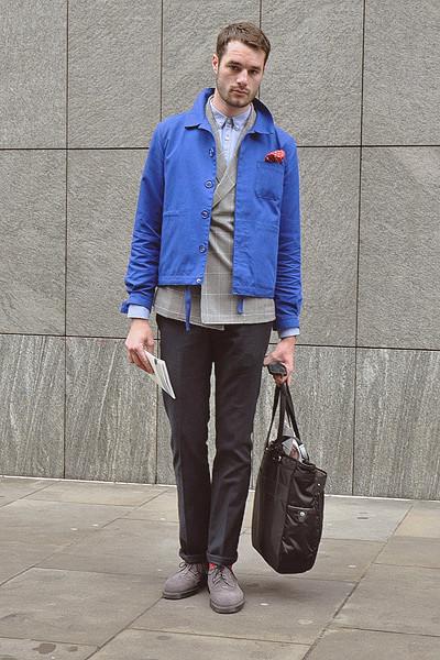 Уличный стиль на неделе моды в Лондоне. Изображение № 19.