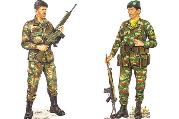 Испанская и греческая военная форма, конец восьмидесятых. Изображение № 5.