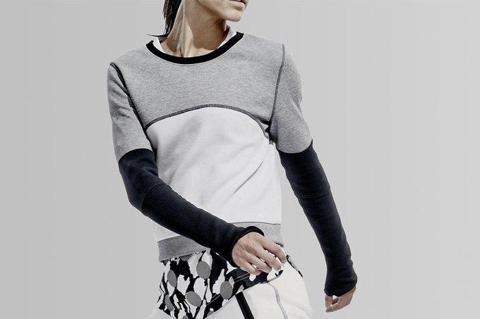Nike представила коллекцию одежды из высокотехнологичного флиса. Изображение № 3.