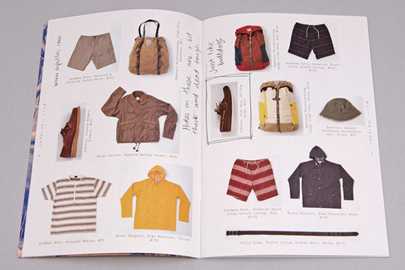 Изображение 12. Men's Digest: коллаборации Band Of Outsiders, журнал от Oi Polloi и видео о куртках Schott.. Изображение № 12.