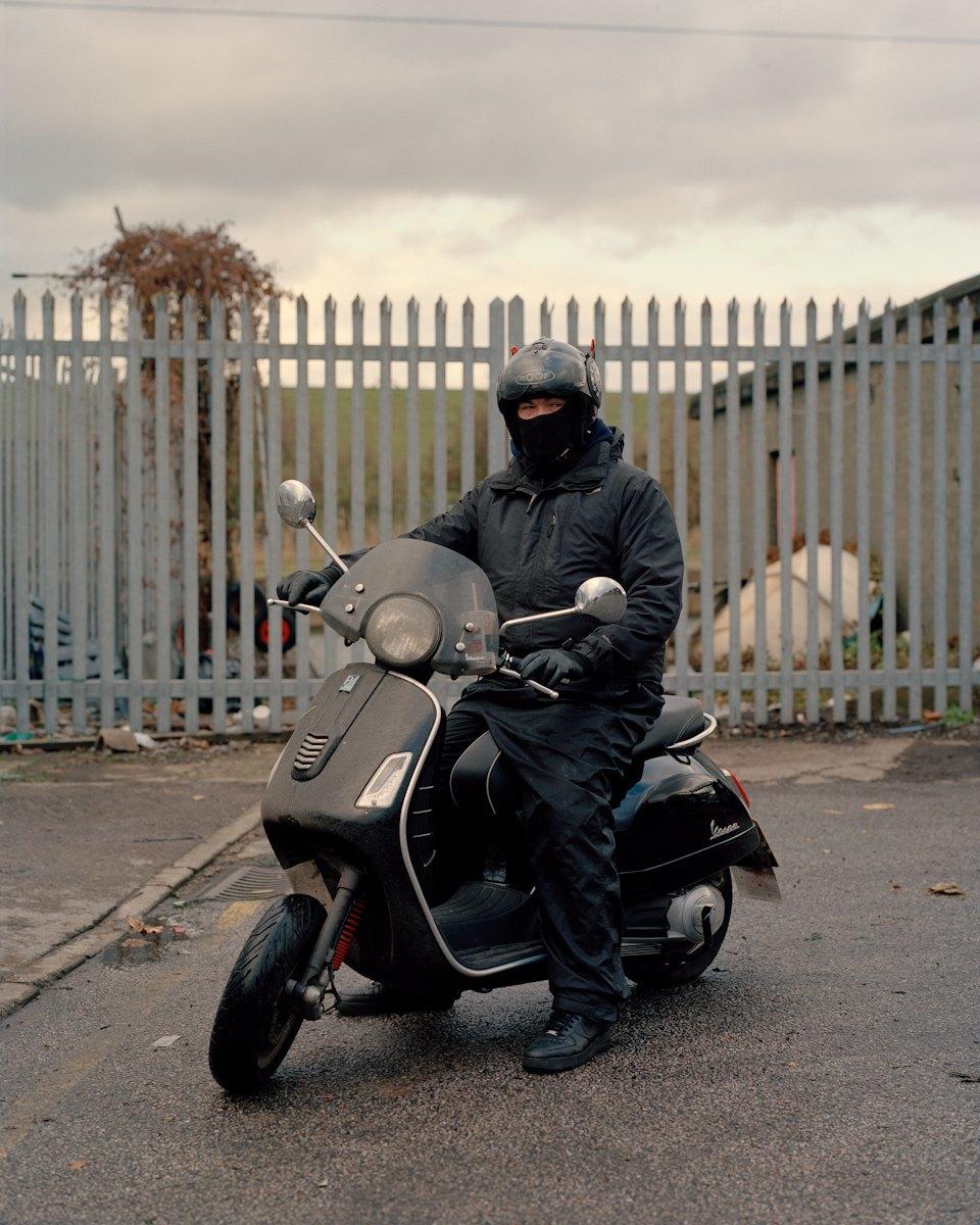 Фотопроект: Лондонские гопники и их мотоциклы. Изображение № 10.