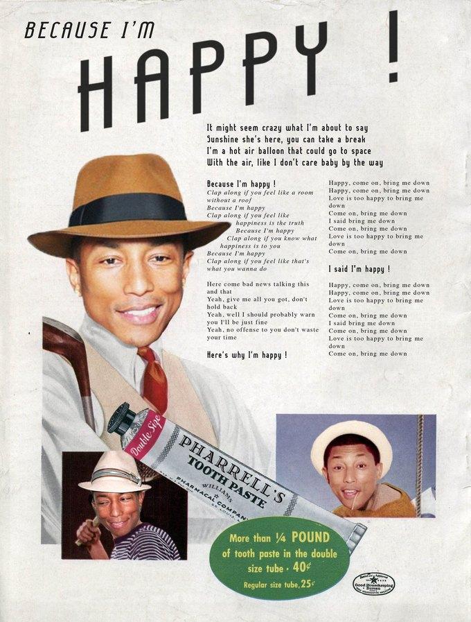 Ads Libitum: Звезды поп-культуры на винтажных рекламных плакатах. Изображение № 16.
