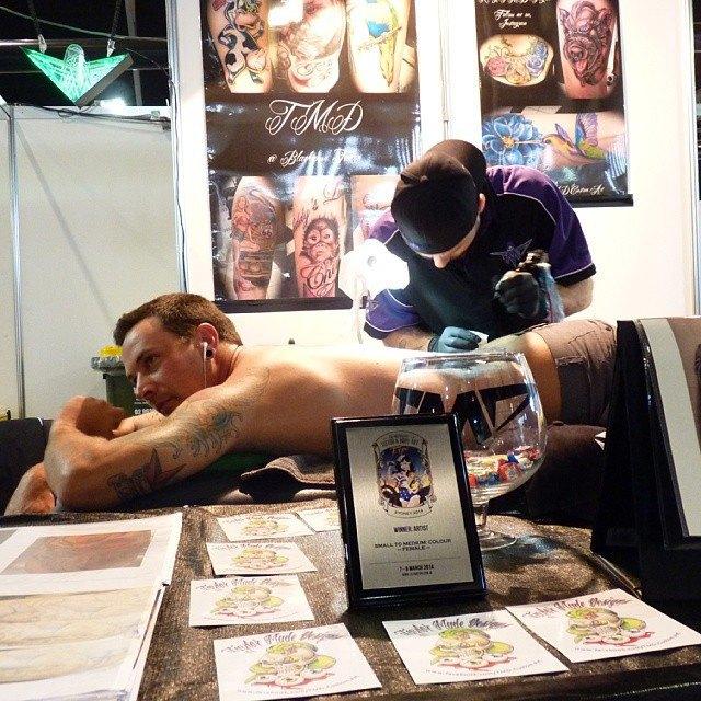 Австралийская выставка Tattoo and Body Art Expo в Instagram-фотографиях её участников. Изображение № 8.