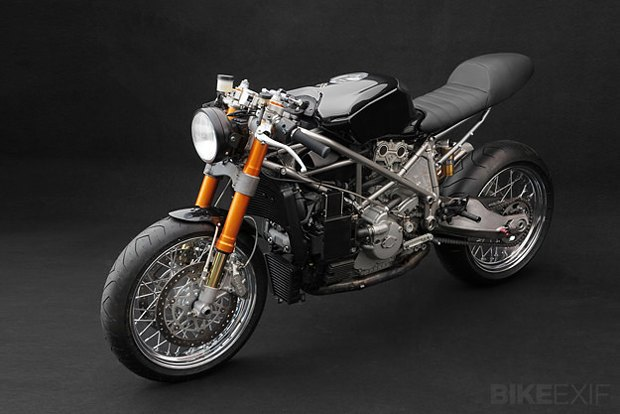 Мастерская Venier Custom собрала новый байк Ducati 999S Testastretta. Изображение № 1.