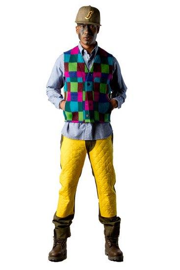Марка Billionaire Boys Club опубликовала лукбук осенней коллекции одежды своей линейки Bee Line. Изображение № 17.
