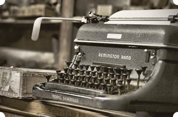 Именная печать: Великие писатели и их любимые печатные машинки. Изображение № 1.