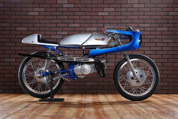 Мастерская Air-Tech Streamlining собрала новый мотоцикл на базе Suzuki Stinger. Изображение № 1.