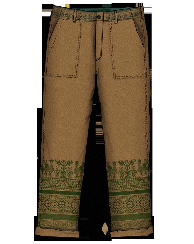Эксперимент FURFUR: Старорусские узоры как способ разукрасить мужской гардероб. Изображение № 8.