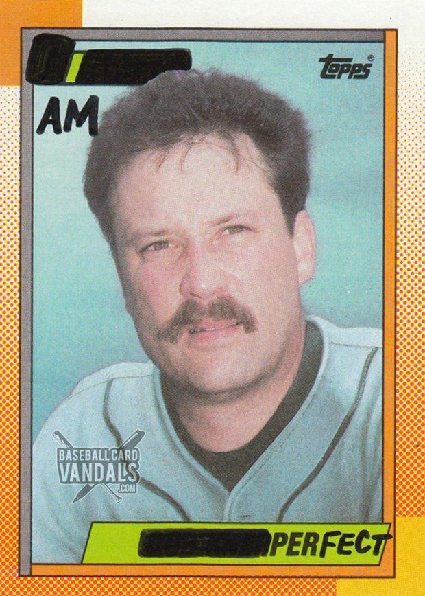 Baseball Card Vandals: Художники иронизируют над спортивными коллекционными карточками. Изображение № 14.