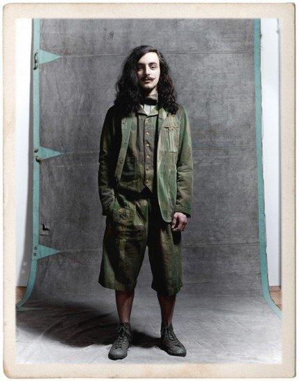 Марка Nigel Cabourn опубликовала лукбук весенней коллекции одежды. Изображение № 7.