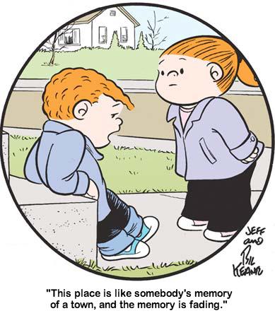 Пользователь Tumblr объединил комикс Family Circus и сериал True Detective. Изображение № 3.