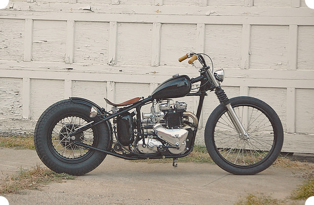 Сбросить вес: Гид по облегченным американским мотоциклам — бобберам. Изображение №6.