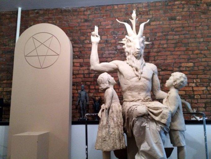 В Оклахоме представили макет статуи Бафомета. Изображение № 1.