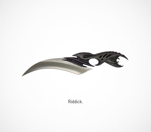 Итальянский дизайнер представил коллекцию ножей знаменитых персонажей. Изображение № 49.
