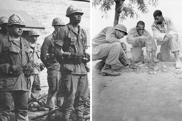 Форма американских солдатов, 1970 год. Второй снимок найден на streetetiquette.com. Изображение № 6.