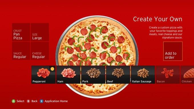 Kinect для Xbox One поможет владельцу заказывать пиццу. Изображение № 1.