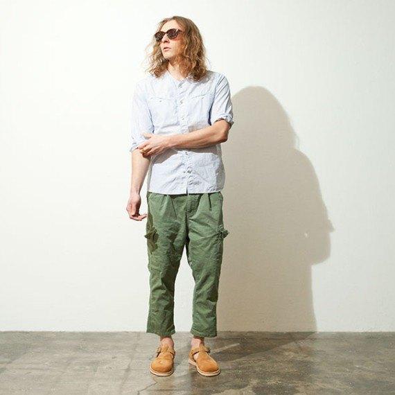 Марка Nonnative опубликовала лукбук летней коллекции одежды. Изображение № 9.