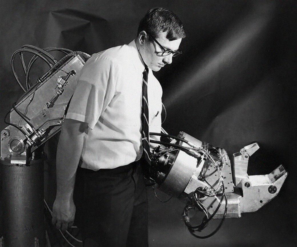 Что собой представляет экзоскелет — костюм «железного человека» будущего. Изображение № 4.