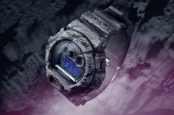 В магазине Brandshop состоится запуск продаж коллаборационной модели часов Casio G-Shock x Maharishi. Изображение № 9.