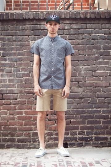 Марка Obey выпустила лукбук весенней коллекции одежды. Изображение № 12.