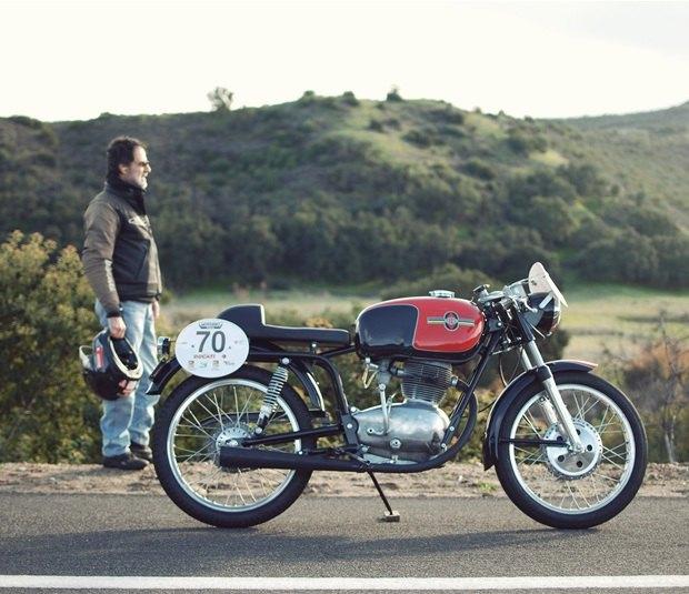 Мастерская Vintage Italian Restoration представила мотоцикл Gilera 175 Milano Taranto. Изображение № 1.