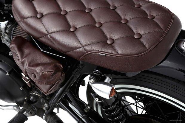 Мастерская Ellaspede представила новый кастом на базе мотоцикла Triumph Bonneville. Изображение № 9.
