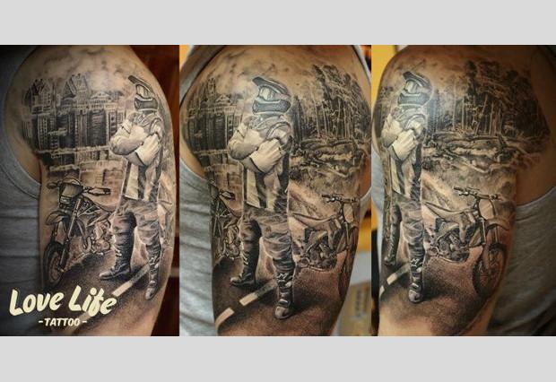 Избранные работы студии Love Life Tattoo. Изображение № 18.