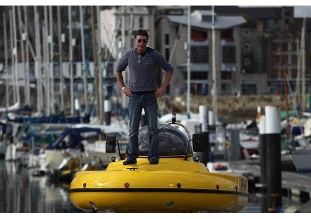 Англичанин разработал подводную лодку-амфибию с революционным гироскопическим генератором. Изображение № 3.