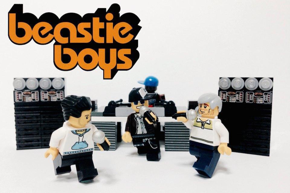 Lego-go: Культовые группы в виде фигурок из конструктора LEGO. Изображение № 10.