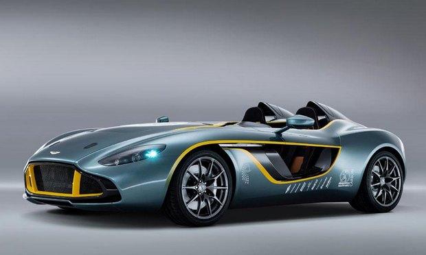 Aston Martin представил юбилейный спидстер CC100. Изображение № 2.