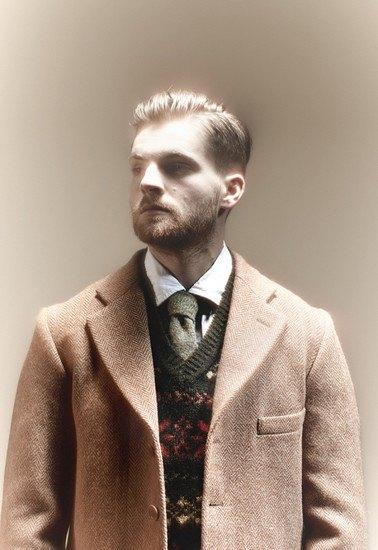 Марка Nigel Cabourn выпустила лукбук осенней коллекции одежды. Изображение № 3.